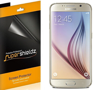 6X Supershieldz HD Clarify Screen Protector Shield Saver For Samsung Galaxy S6