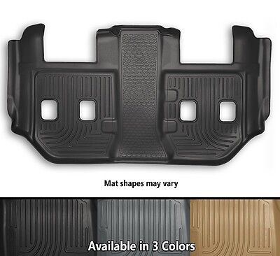 Husky Liners WeatherBeater Third Row Floor Mat - Choice Of Color