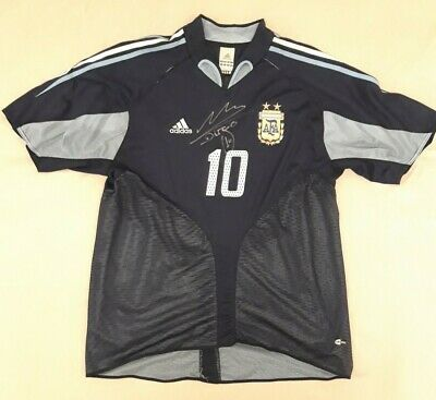 SIGNED Maglia Adidas Diego Maradona Argentina Calcio size XL Jersey FIRMATA