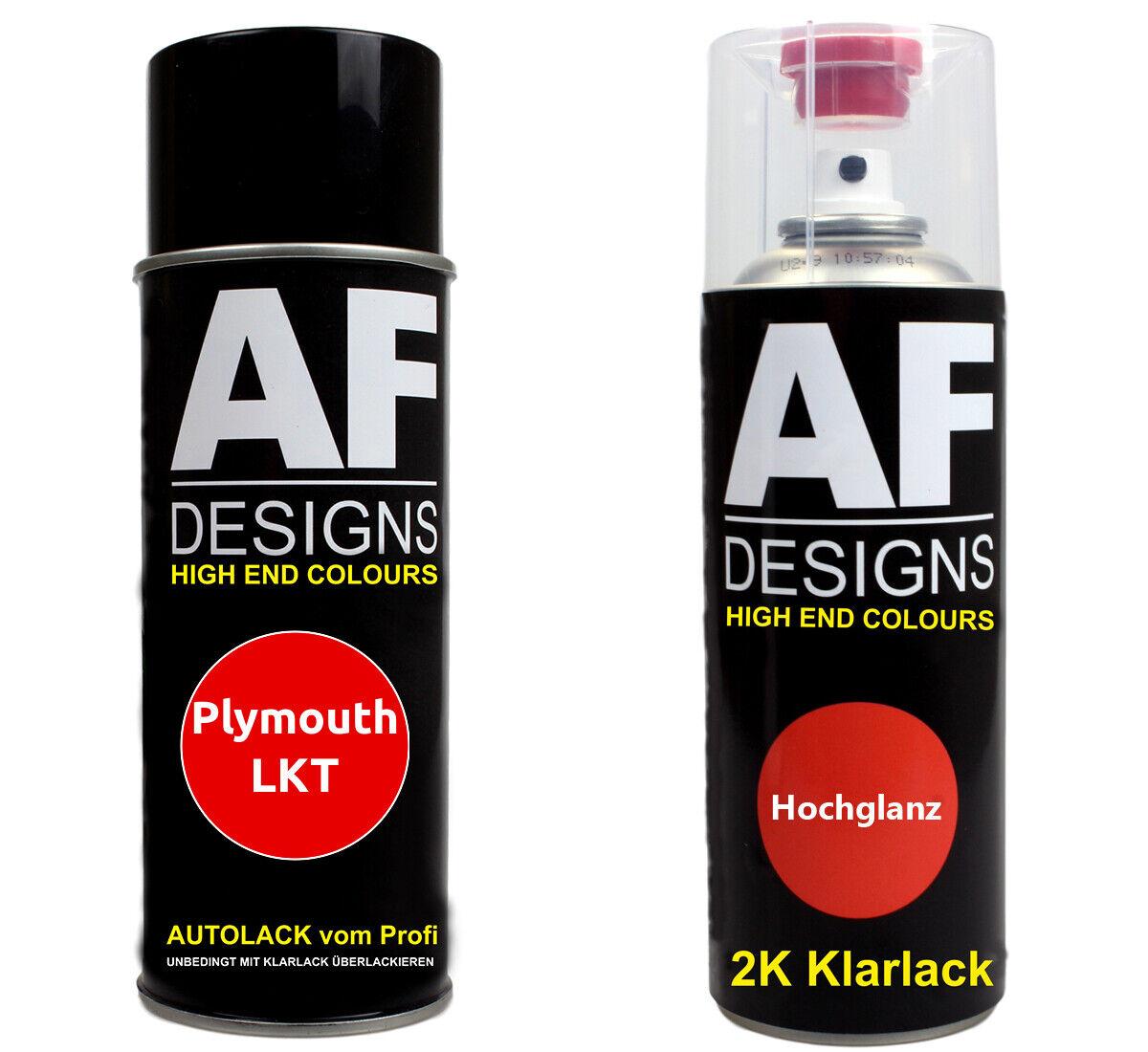 Autolack Spraydose Set Plymouth LKT Rock Lobster Basislack 2k Klarlack Sprühdos