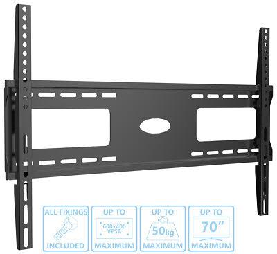 Slim Super Flat TV Wall Mount Bracket 49 50 55 60 65 70 LCD LED OLED CURVED SM Lcd Tv Flat Wall Mount