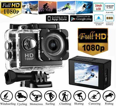 SJ4000 1080P HD Ultra Sport Action Camera DVR Helmet Cam Underwater Camcorder US