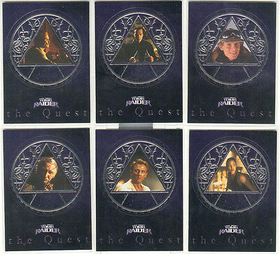 Tomb Raider The Cradle Of Life Secret Of The Orb Chase Card SO1