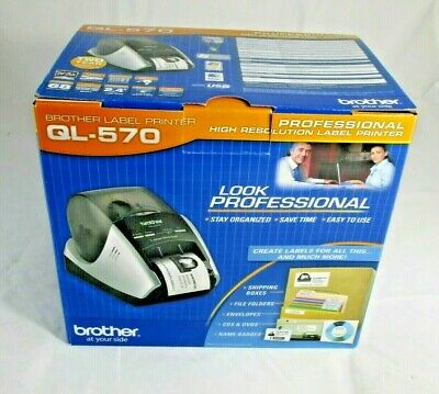 New Brother Professional High Resolution Label Printer Ql-570 For Macpc