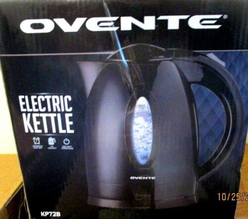 Ovente 1.7L BPA-Free Electric Kettle, Fast Heating, Black   SB23
