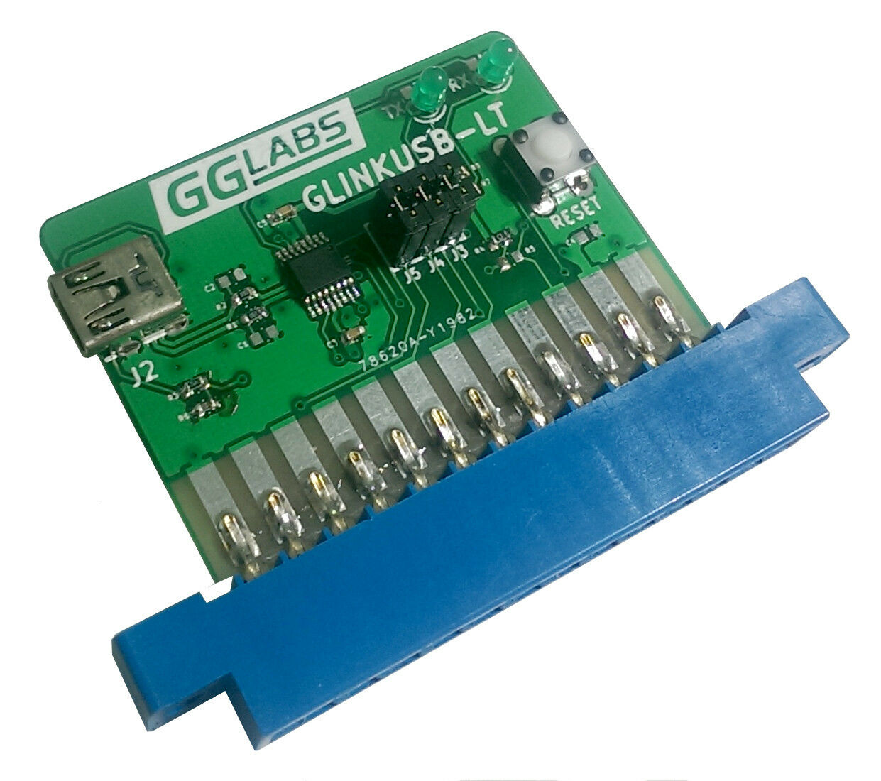 New GGLABS GLINKUSB-LT Commodore 64/128 User Port RS232 to USB - VIC-1011/UP9600