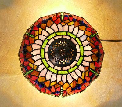 Tiffany Plafoniere Deckenlampe Tiffanylampe Dragonfly Libelle Lampe TE02-a