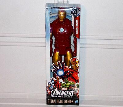Marvel Avengers Assemble Iron Man Titan Hero Classic Series 12  Action Figure