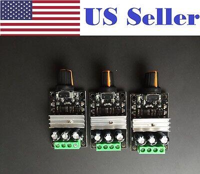 3 Pcs Dc 6v12v24v28v 3a Mini Pwm Motor Speed Regulator Controller Switch