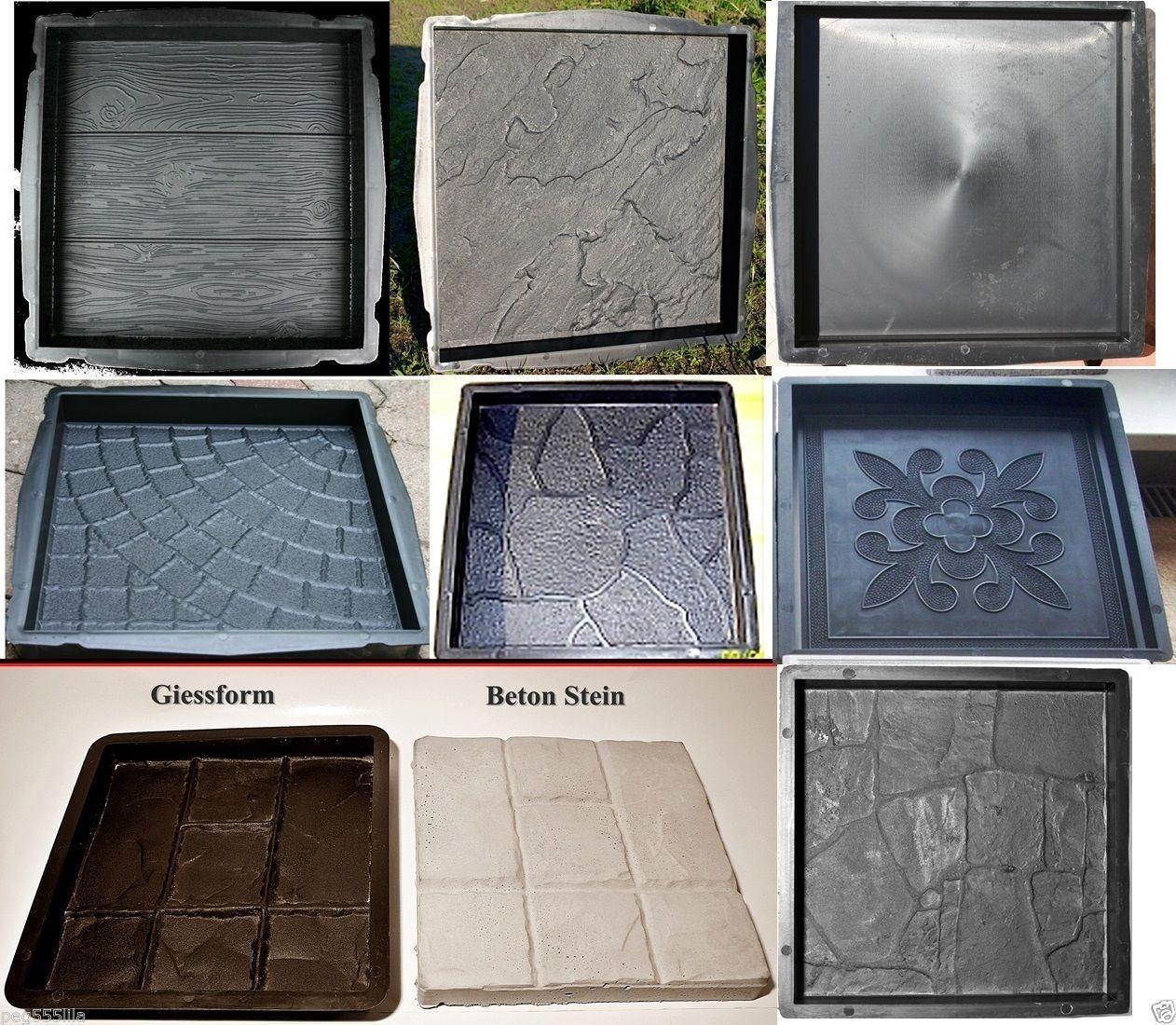 Schalungsformen Giessformen Betonformen zum Steine selber giessen