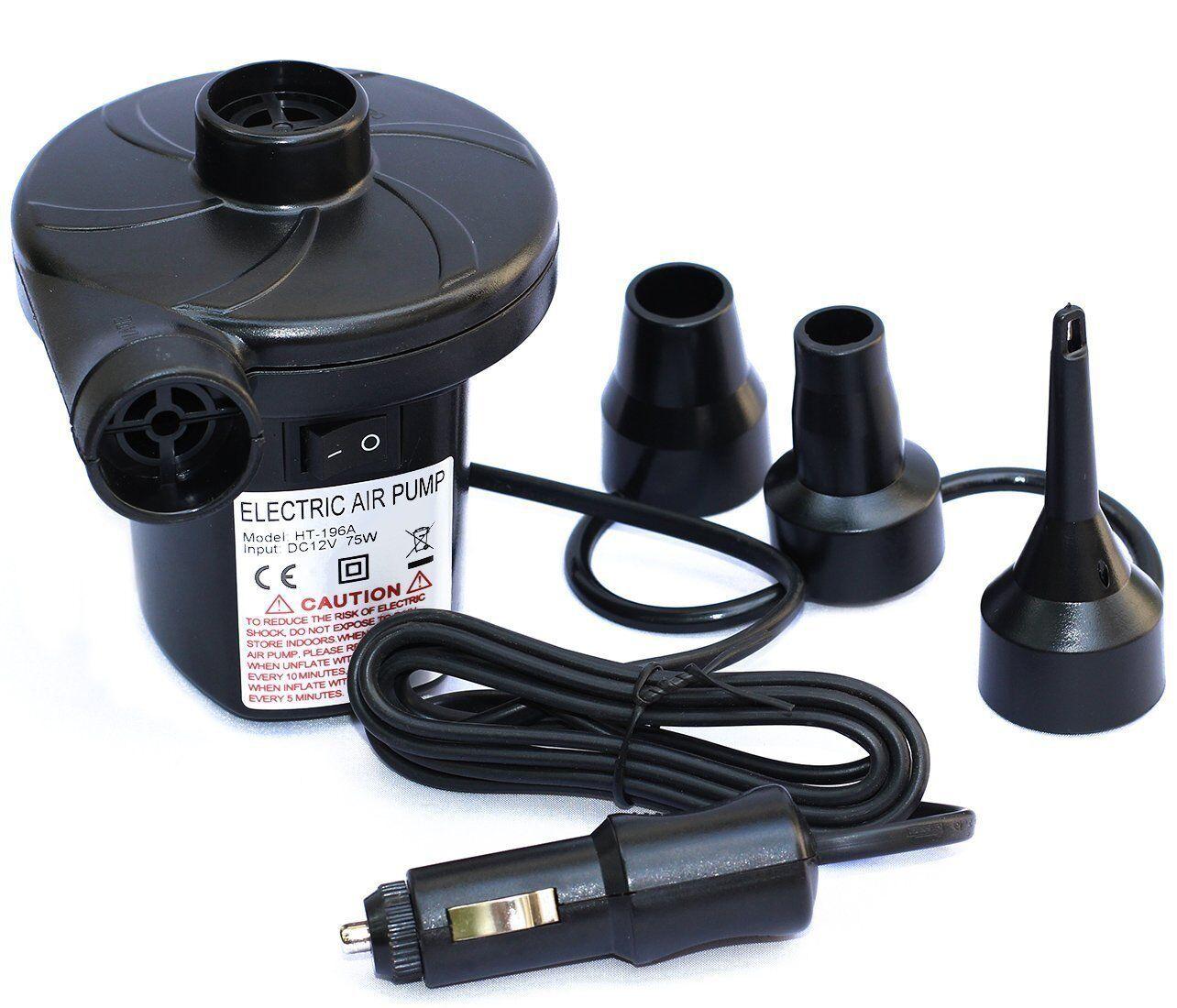 12V DC Electric Air Pump for Inflatables & Mattress