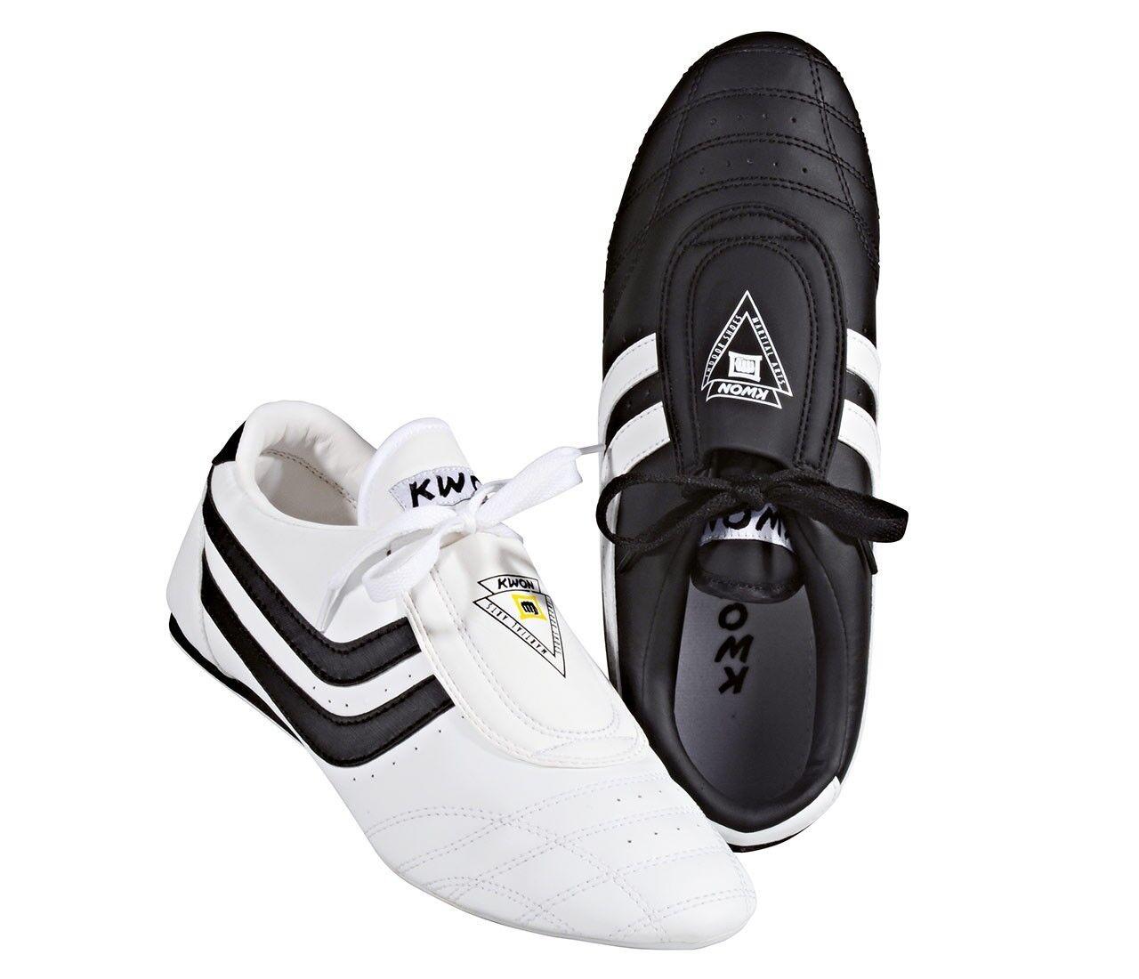 Kwon Kampfsportschuhe Schuhe Chosun weiß schwarz Kampfsport Taekwondo TKD Schuh