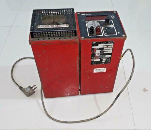 Sika electronic TP18600 dt temperature calibrator 600 C 600 degree C