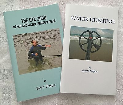 MINELAB CTX 3030 BOOK AND WATER HUNTING BOOK