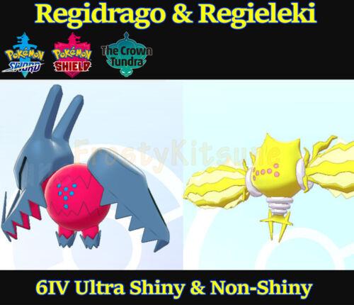 6IV Ultra Shiny Regieleki & Regidrago Square Shiny Pokemon Sword / Shield