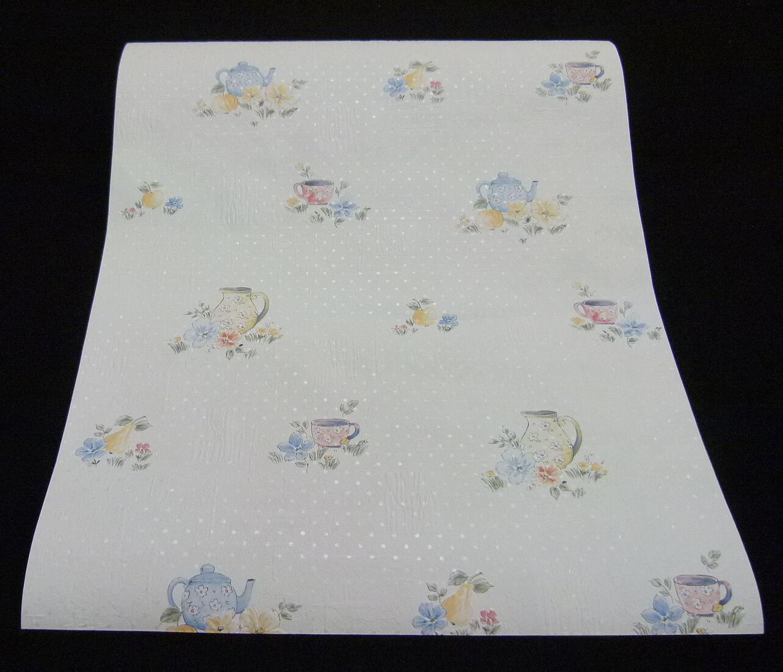 06629-10-519) 1 Rolle hochwertige Papiertapete Küchen-Design mit feinem Glanz