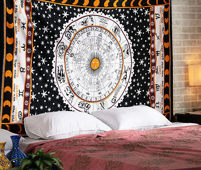 Mandala Tapestry Indian Wall Hanging Bohemian Hippie Bedspread Throw Decor  65