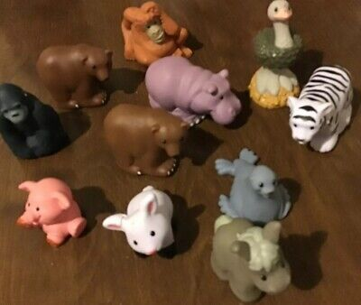Lot of 11 Little People Zoo Talkers Variety