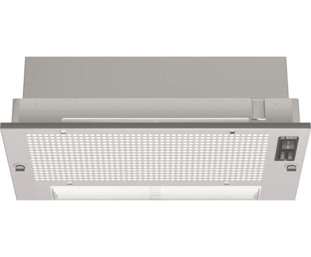 Bosch DHL535BGB Serie 2 Built In 53cm 2 Speeds Canopy Cooker Hood Silver Grey -