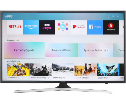 Samsung UE43MU6199UXZG 4K/UHD LED Fernseher 108 cm [43 Zoll] Schwarz
