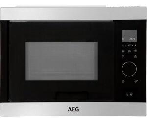 AEG MBB1755S-M Built In Microwave in Stainless Steel