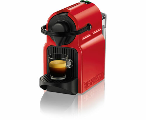 Krups Nespresso XN1005 Inissia Kapselmaschinen Rot