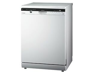 14 Place - Freestanding White Dishwasher with Steam Cleaning Lane Cove Lane Cove Area Preview