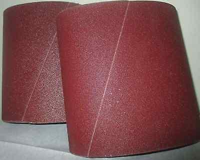 Premium 100 Grit Sandpaper Belts 8 X 19 10-pack For Ez8 Floor Sander