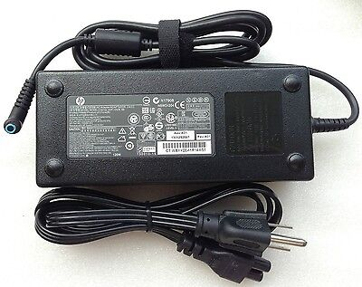 @Original OEM HP 120W Charger Envy Touch 15t-j000/i7-4900MQ/710415-001 Notebook
