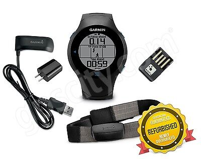 Garmin Forerunner 610 Gps Fitness Sports Watch W  Hrm3   Ant  Stick 010 00947 10