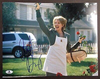 Annette Bening Signed 11X14 Photo Beckett Coa Autograph American Beauty Bas
