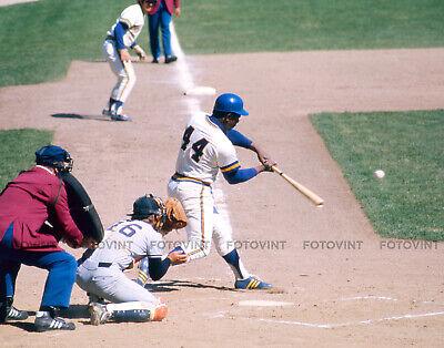 HANK AARON Photo MILWAUKEE BREWERS Baseball Picture in 8x10 or 11x14](Milwaukee Brewers Baseball)