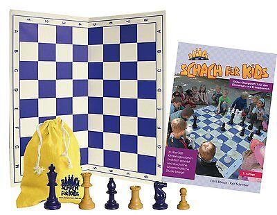 Schach für Kids - pädagogisches Schach-Lernset mit Übungsheft für Kinder ab