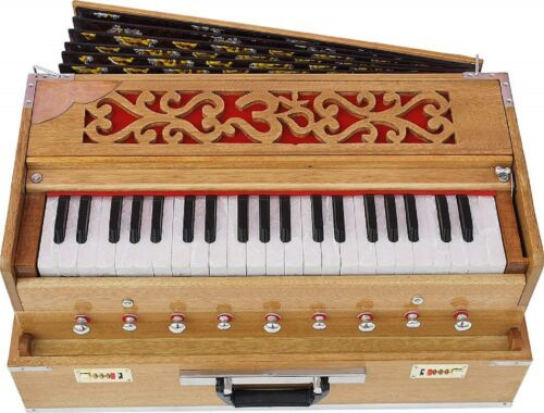 harmonium,Musicals Bass Reed & Male Reed Traveler, Portable, Folding 9 Stops,