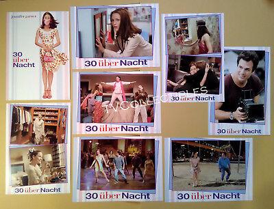 Lobby Card Set~ 13 GOING ON 30 ~2004 ~Jennifer Garner ~Mark Ruffalo ~Judy Greer