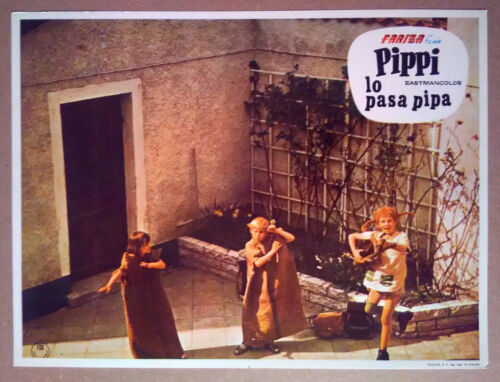 Lobby Still~ PIPPI Longstocking ON THE RUN ~Inger Nilsson ~Maria Persson ~Tommy