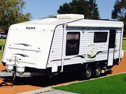 LUXURY FAMILY CARAVAN FOR HIRE 2012 ROMA ELEGANCE Scarborough Stirling Area Preview