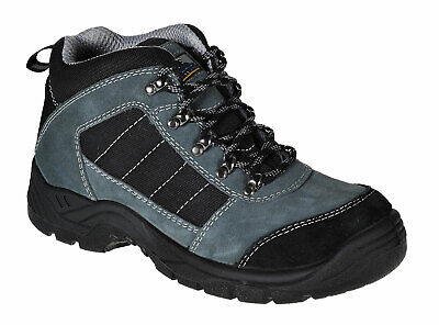 Mens Work Boots Safety Trekker Shoes Steel Toe Cap Slip Resistant, Portwest FW63