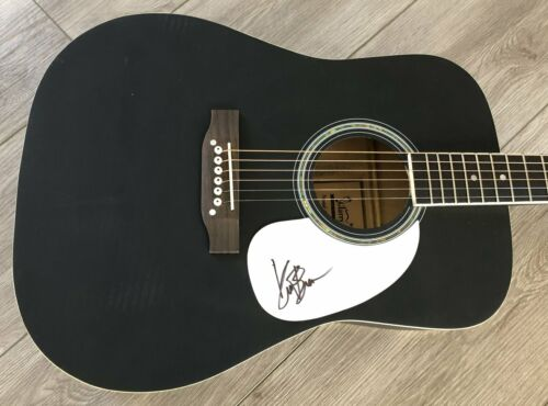"""KANE BROWN SIGNED 41"""" FULL SIZE ACOUSTIC GUITAR w/EXACT PROOF"""