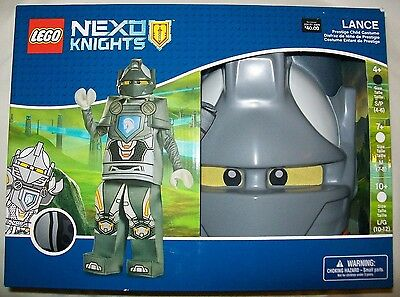Lego Nexo Knights LANCE Prestige Child Costume Dress-Up Small S Disguise 4-6 NEW