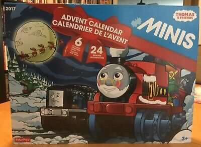 "Fisher-Price ""Thomas & Friends"" Minis Advent Calendar Train Set 2017, BRAND NEW!"