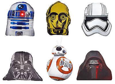Disney Star Wars Kissen 20cm Letzten Jedi Stormtrooper Darth Vader R2D2 Plüsch