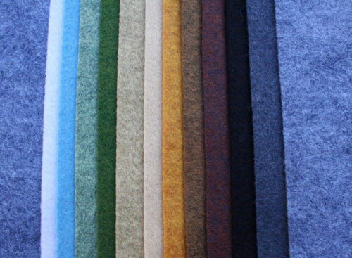 "Wool blend felt 12 pack, NEW, 12x18"" earth tones color pack, 12 x 18 inches"