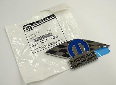 Mopar Performance Emblem Badge Nameplate for Dodge Chrysler Ram 82214234