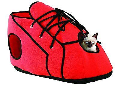 Cat Scratcher Play house Red Shoe Cat Kitten Kitty Pet House Activity Center New