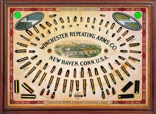 Rockin W Brand Winchester Government Contractor Cartridge Board 18 x 11
