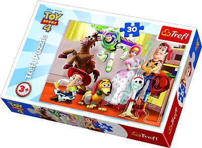 Trefl 30 Piece Kids Toy Story 4 Ready To Play Big Pieces Floor Jigsaw Puzzle NEW
