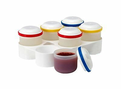 Dr. Brown's Food Storage Pods & Stackable Freezer Tray ~Includes 6 Silicone Pods, used for sale  Shipping to India