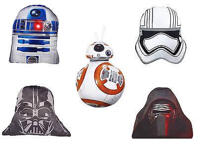 Disney Star Wars Kissen 40cm Letzten Jedi Stormtrooper Darth Vader R2D2 Plüsch