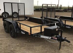 2017 Diamond C RU 5x10 Utility Trailer